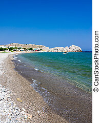 Haraki Beach Rhodes - The Beautiful Haraki Beach Rhodes...