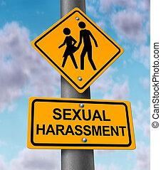 harassment, płciowy