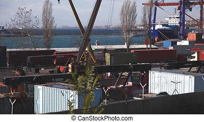 Harbor Activity, shooting Canon 5D Mark II