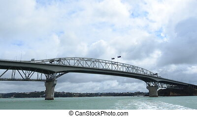Harbor bridge New Zealand - Auckland harbor bridge New...