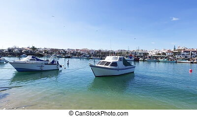 Harbor from Lagos in Portugal - Harbor from Lagos in the...
