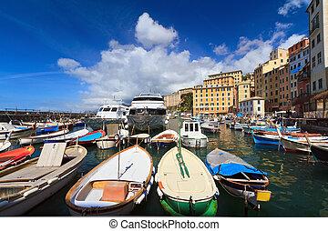 harbor in Camogli