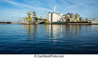 Harbor of Amsterdam