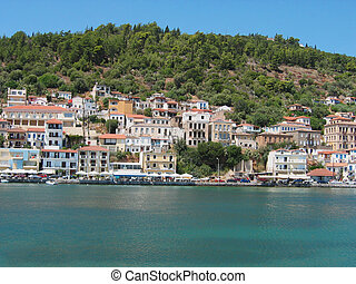 Harbor of Gytheio Peloponnese Greece