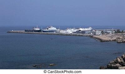Harbor of Kyrenia, North Cyprus