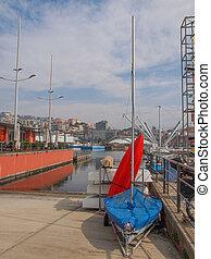 Harbour Genoa Italy