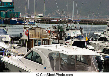 harbour in summertime - close to Cape Town, South Africa