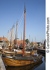 harbour of a old dutch harbour
