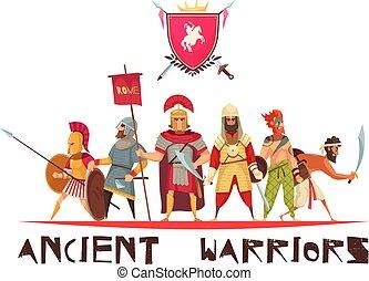 harcos, fogalom, ősi