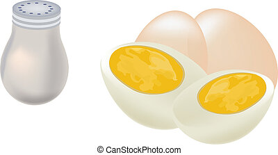 hard boiled eggs clip art and stock illustrations 313 hard boiled rh canstockphoto com eggs clipart panda eggs clipart free