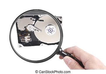 Hard disc investigation