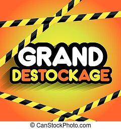 Hard Discount Big Sale - Creative Abstract Hard Discount Big...