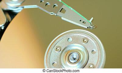 hard disk disc background technology