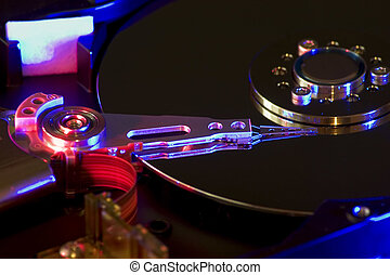 hard disk drive - background possible to use for printing...