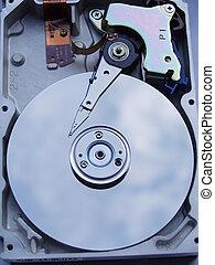 Hard Disk Drive - Computer Hardware, Hard Disk, Macro