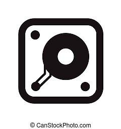 hard disk icon.