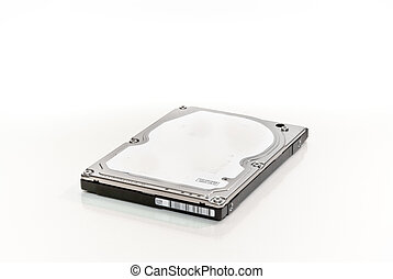 Hard disk - Internal notebook hard disk on white background