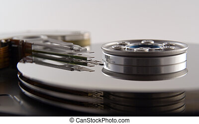 Hard Drive - A PC hard drive