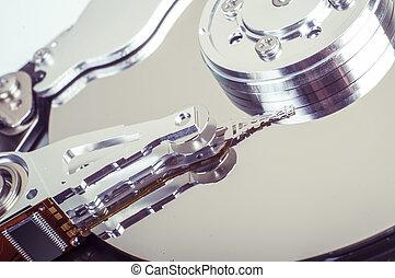 Hard drive - An image of hard drive close up