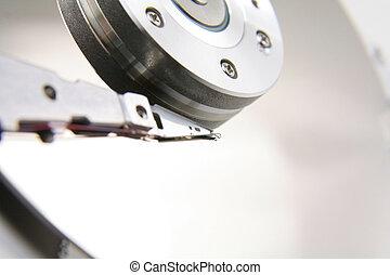 Hard drive details