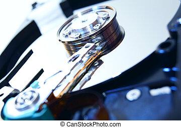 Hard drive.