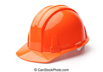 Hard hat, isolated on white background