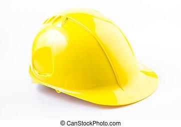 Hard hat , safety helmet on isolated white background