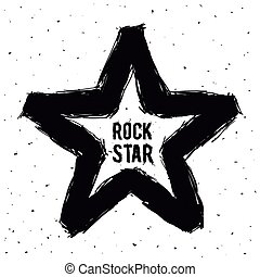 hard rock design - hard rock graphic design , vector...