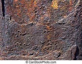 hard rock texture surface