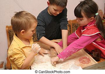 hard working children
