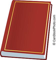 hardcover boek, illustratie