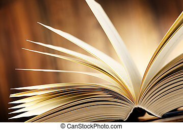 hardcover książka, skład, stół