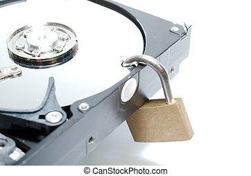 harddisc,  lock/security