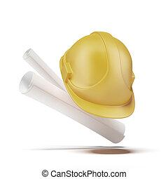 harde hoed, werkjes