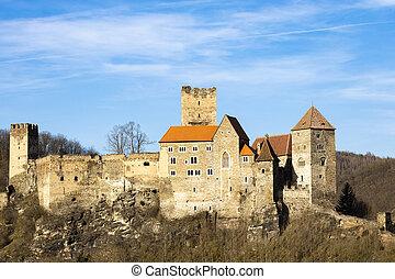 Hardegg castle in north Austria