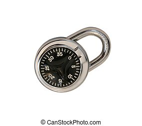 Hardened Lock - Steel Lock with Star Dial