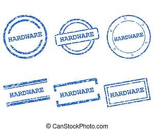 hardware, frimærker