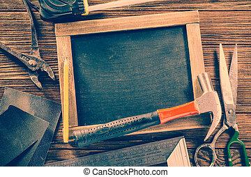 hardware, ouderwetse , bouwsector, meubelmakerij, gereedschap