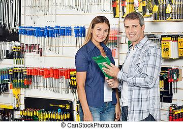 Hardware, PRODUKT, kaufmannsladen, Paar, Kaufen