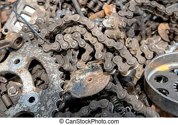 Hardware tools parts chain