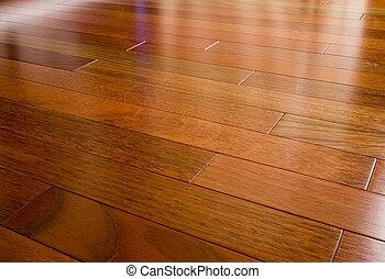 hardwood, cereja, brasileiro, chão