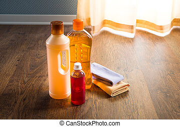 Hardwood floor cleaners - Detergent products for hardwood...
