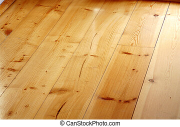 Hardwood floor in a house