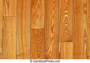Hardwood floor - Hardwood oak floor boards view from above...