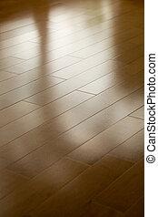 hardwood floor for background