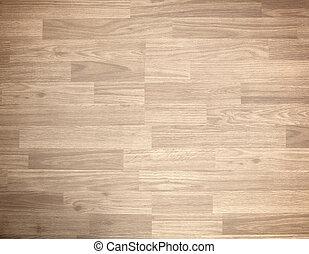 Hardwood maple basketball court floor
