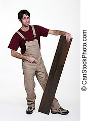 Hardwood salesman