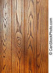 Hardwood parquet floor with wood grain