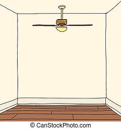 hardwood vloert, kamer