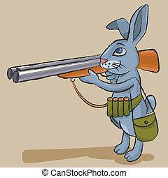 Hare - hunter